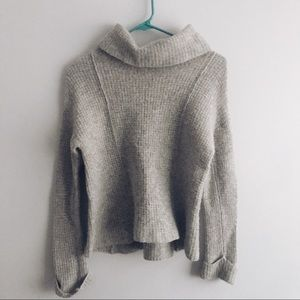 Free People Ribbed Turtleneck Sweater